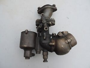 Vintage 1900 S 1920 S Zenith Brass Carburetor For Parts Rebuild