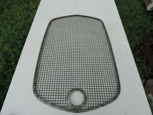 Vintage 1920 S 1930 S Stone Guard Grill Cover Model A Ford Hot Rod Rat Rod