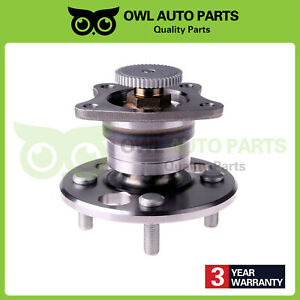 Rear Wheel Bearing Hub Assembly For Toyota Corolla Chevy Geo Prizm W Abs 512019