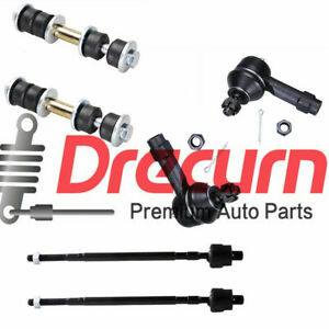 6pc Complete Front Suspension Kit For Mitsubishi Mirage 1997 2002 All Models