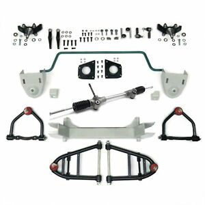 Stage 2 56 5 Mustang Ii Ifs Kit Stock Height Spindles Sway Bar Suspension Front
