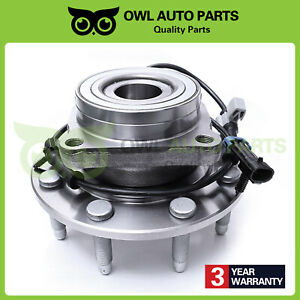 For Chevy Silverado Gmc Sierra 2500 Hd Front Wheel Bearing Hub 8lug 4x4 515058