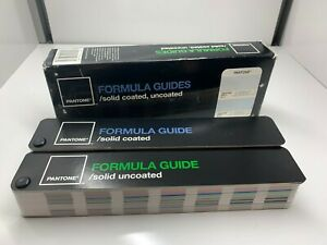 Pantone Formula Guide Solid Coated Uncoated New