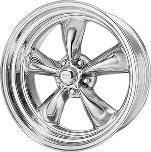 1 American Racing Vn515 Torq Thrust 2 17x8 5x5 Vn5157873 Wheel Rim Polished