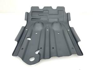 03 09 Hummer H2 Oem Front Skid Plate Powdercoated Textured Black Used