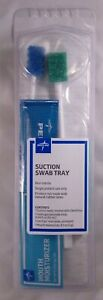 Medline Oral Care Suction Swab Tray Kit W Hydrogen Peroxide More Lot Of 4 New