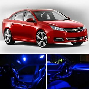 Blue Car Led Lights Interior Package Kit For Chevy Cruze 2011 2015 Bulb