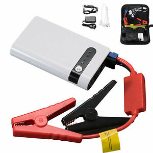 Portable Mini Car Jump Starter Emergency Fast Charge Power Bank Battery Charger