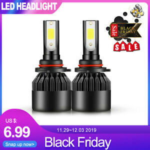 2x H11 Led Headlight Kit 1950w 295000lm High Low Beam Bulb Cree 6500k Lamp White