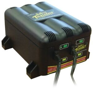 Battery Tender 022 0165 dl wh 2 Bank Charger Lightweight Agm Ideal Sparkproof