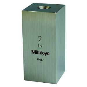 Mitutoyo 614202 531 516 Series 2 Sae Square Gauge Block