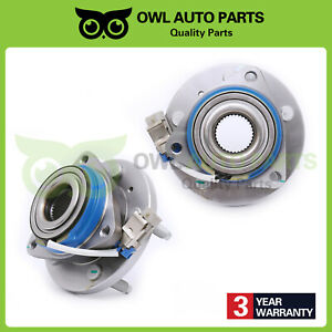 Both 2 Front Wheel And Bearing Chevy Impala Monte Carlo Buick Lesabre Hd Fwd
