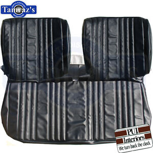 1968 Impala Custom Front Rear Seat Upholstery Covers Pui New