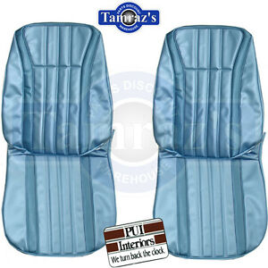 1968 Impala Ss Front Bucket Seat Upholstery Covers Pui New