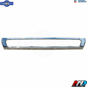 73 74 Charger Oe Quality Chrome Plated Bumper Rear New From Amd