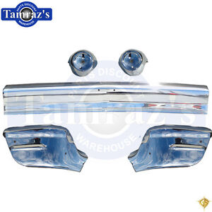 1957 Chevy 150 210 Bel Air Front Bumper Chrome New Bu13 57f