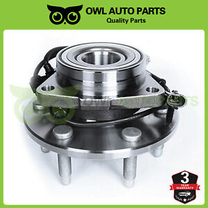 4wd 6 Lug Front Wheel Bearing Hub Assembly For Gmc Sierra Chevy Silverado 1500