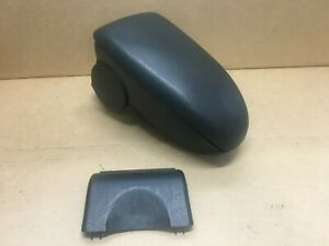 00 07 Ford Focus Front Center Console Armrest Arm Rest Black Good Latch P40