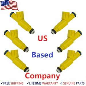 6 Bosch Fuel Injectors 1998 2000 Ford Ranger Mazda B3000 3 0l V6 oem Upgraded