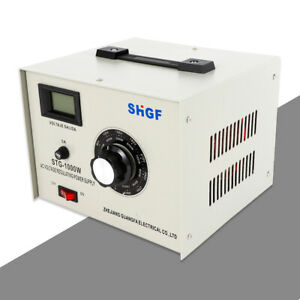 110v Ac Variac Autotransformer Voltage Regulator Power Supply 0 300v Stg 1000w