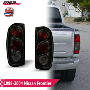 For 98 04 Nissan Frontier Oe Style Fit Lamp Tail Lights Altezza Black Smoke