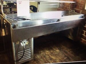 Stainless Refrigerated Table Cold Food Pan Buffet Salad Bar Delivery Available