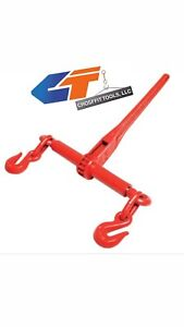 Ratchet Chain Load Binder Size 1 2 5 8 Wll 13 000 Lbs
