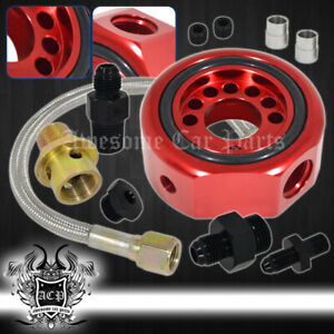 For Honda Acura Ls B20 Oil Supply Line Adapter Plate Sandwich Conversion Kit Rd