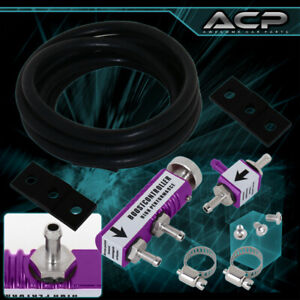 Adjustable Vip Incabin Turbo 30psi Manual Boost Bypass Controller Kit Set Purple