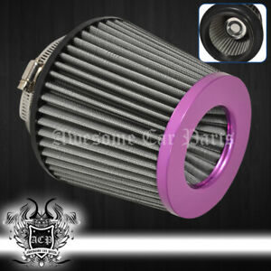 For Ford 4 Performance Cars Automotive Motorcycle Dry Air Filter Intake Purple