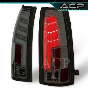 Smoke Tron Style 3d Red Led Neon Tube Tail Lights Lamps For 88 98 C K 1500 2500