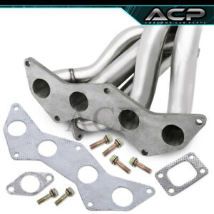 For 05 06 07 08 09 10 Scion Tc 2 4l T3 304 Stainless Steel Turbo Manifold 2azfe