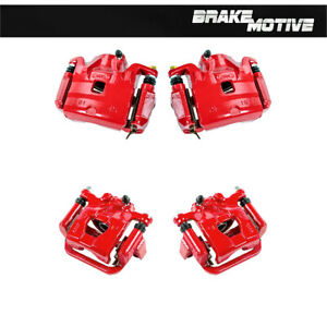 Front Rear Powder Coated Brake Calipers For 2007 2010 Nissan Altima