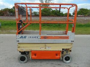 2006 Jlg 1930 es Electric Self Propelled Scissor Man Lift 25 Ft Work Height