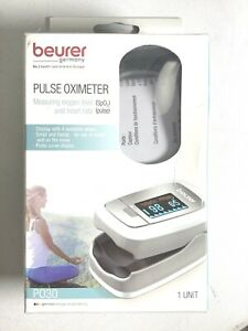 Beurer Pulse Oximeter Po 30 Measuring spo2 And Heart Rate pulse Frequency
