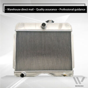Vares 3r Aluminum Radiator Fit 1946 1964 Jeep Station Wagon Willys pickup truck