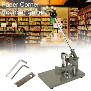 Commercial Paper Corner Rounder Cutter Stack R6 R10 Metal Cutting For Book