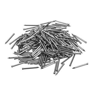 100pcs Carbon Steel Finishing Nails Lost Head Hand drive Hardware 25mm 1 inche