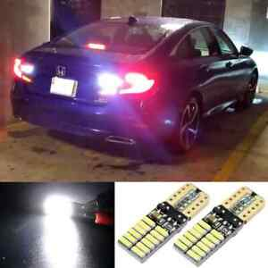High Power Led Reverse Back Up Lights Error Free For 2018 2019 2020 Honda Accord