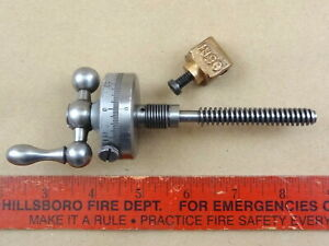 Nice Original Large 200 Dial Heavy 10 South Bend Lathe Compound Rest Top Screw