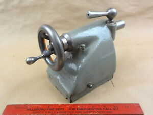 Very Nice Original Heavy 10 South Bend Lathe Tailstock With Swivel Arm