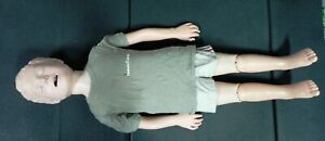 Laerdal Resusci Junior Manikin Cpr Training In Carry Case With Clothing 02