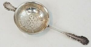 Frank Whiting Sterling Silver Tea Strainer Original Vintage 6 Nice