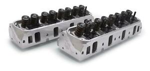 Edelbrock 5027 Cylinder Heads Assembled E 205 Small Block Ford Pair