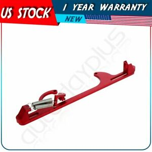 4150 Red Aluminum Throttle Cable Carb Bracket Carburetor For Holley 4150 4160