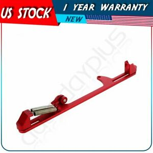 4500 Red Aluminum Throttle Cable Carb Bracket Carburetor For Holley 4500