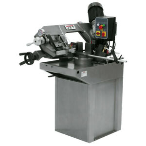 Jet 414464 7 In Zip Miter Horizontal Band Saw With Coolant System New