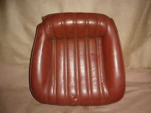 93 02 Camaro Z28 Berlinetta Firebird Rear Back Bottom Seat Leather Used 87