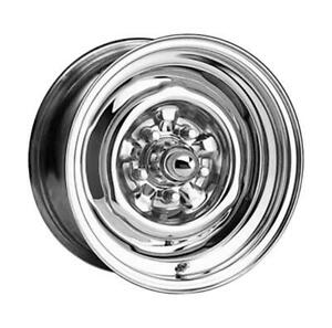 Wheel Vintiques 64 Series Ford Chevy Style O E Chrome Wheel 15 X5 5x4 75 Bc