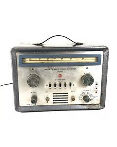 Vintage Rca Crystal calibrated Marker Generator Wr 99a Steampunk
